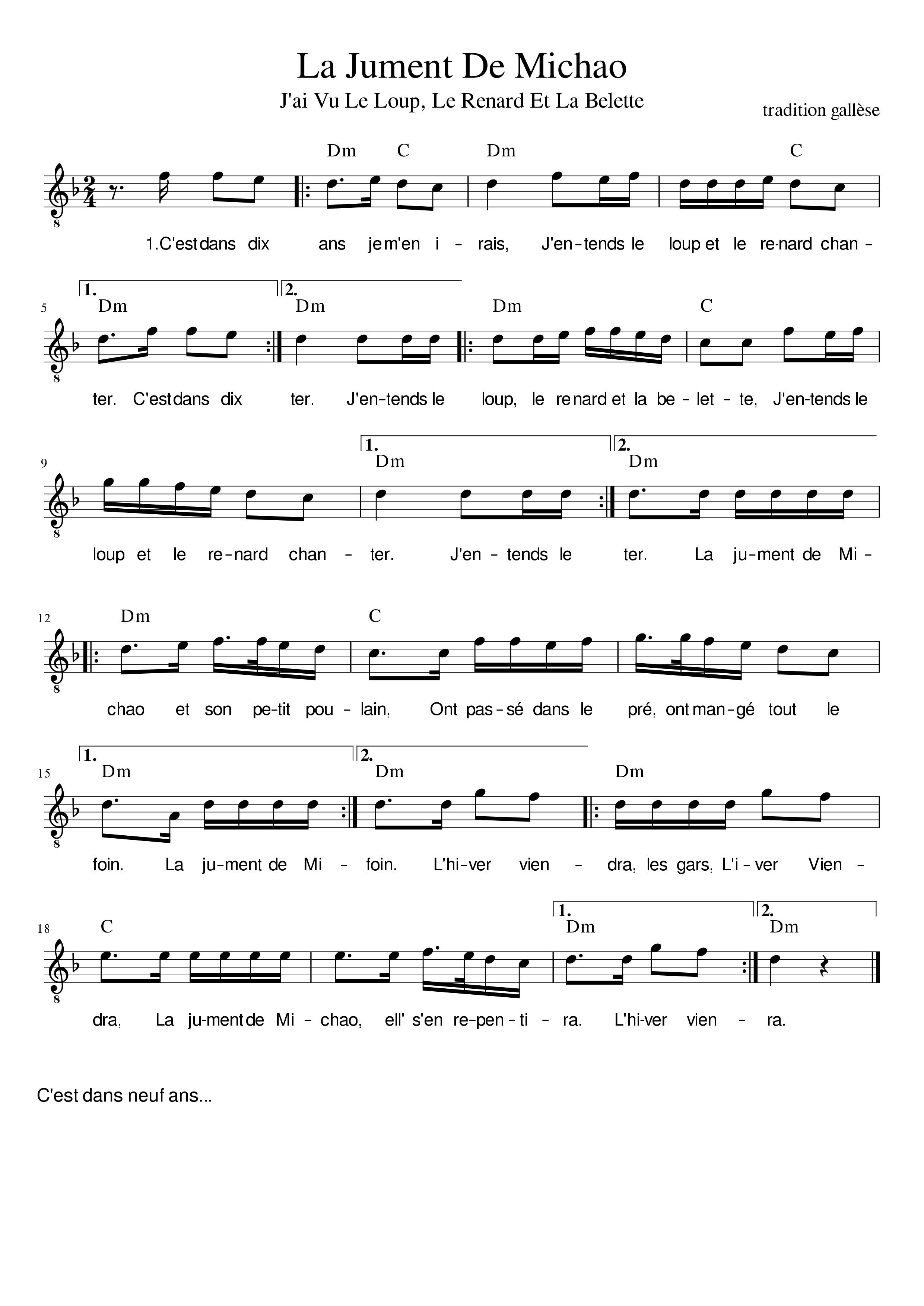 Bretonische Lieder